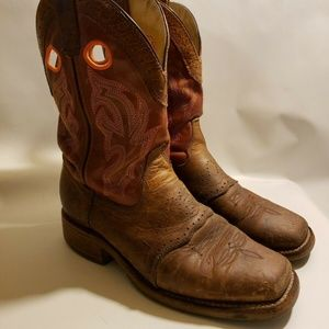 9380c3c22b6 Rudel Shoes   Leather Two Tone Cowboy Boots 7 12 E Nwob   Poshmark